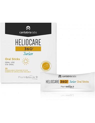HELIOCARE 360 JUNIOR ORAL STICKS 20 SOBRES 1GR