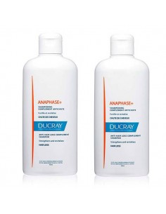DUCRAY ANAPHASE+ CHAMPU COMPLEMENTO ANTICAIDA PACK DOBLE 2X400 ML