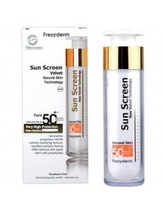 FREZYDERM SUN SCREEN VELVET FACE SPF 50+ 50 ML