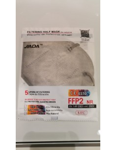 MASCARILLA FFP2 GRIS ADULTO...