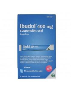 IBUDOL 400MG 20 SOBRES SUSPENSION ORAL 10ML