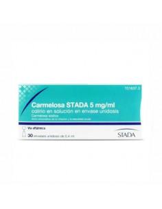 CARMELOSA STADA 5 MG/ML COLIRIO EN SOLUCION 30 MONODOSIS 0,4 ML