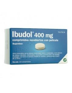 IBUDOL EFG 400 MG 20 COMPRIMIDOS RECUBIERTOS