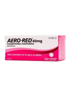 AERO RED 40 MG 100 COMPRIMIDOS MASTICABLES