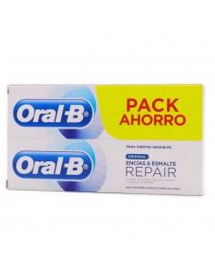 ORAL-B ENCIAS Y ESMALTE PRO REPAIR PASTA DENTAL DUPLO 2X100ML