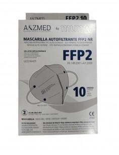 MASCARILLA FFP2 MUMU GRIS 10 UNIDADES