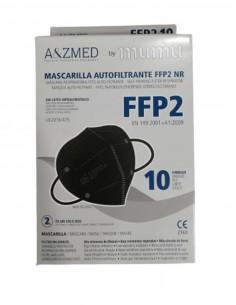 MASCARILLA FFP2 MUMU NEGRO 10 UNIDADES