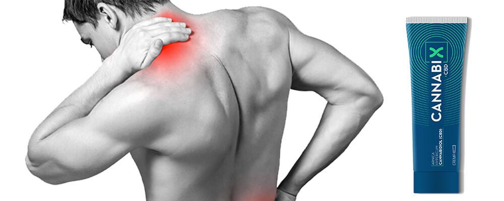 Cannabix CBD crema antiinflamatoria para el dolor muscular