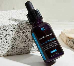 Envase del serum HA Intensifier de skinceuticals opiniones