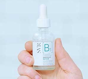 serum apoule hydra con vitamina b3 de laboratorios svr