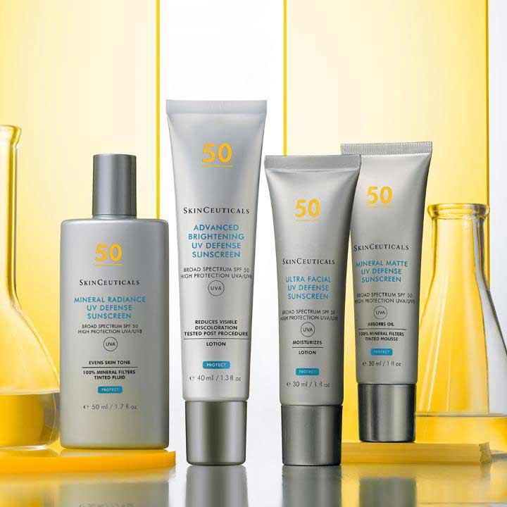 Fotoprotectores solares Skinceuticals en Farmacia Senante