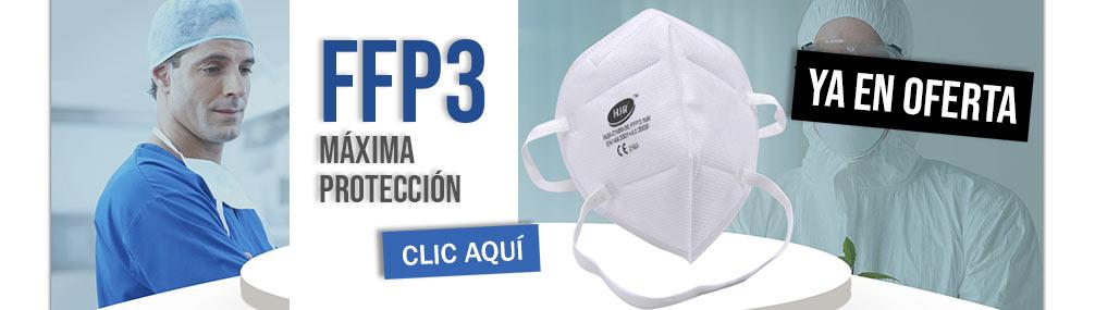 Oferta Mascarillas FFP3 Farmacia Senante