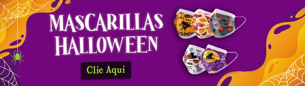 Mascarillas halloween envio gratis Farmacia Senante