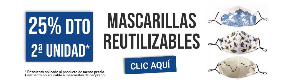 Descuento Oferta Mascarillas Reutilizables Farmacia Senante