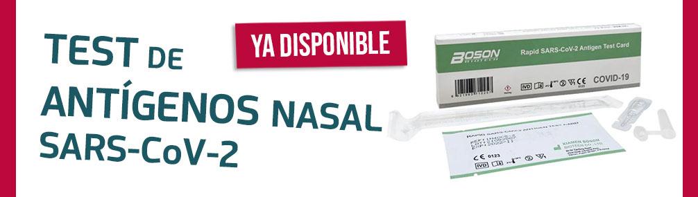Test de antígenos online Farmacia Senante